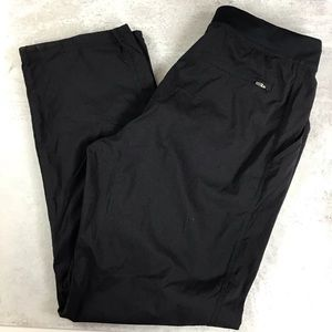 Fabletics Medium Nylon Pants Black 0712